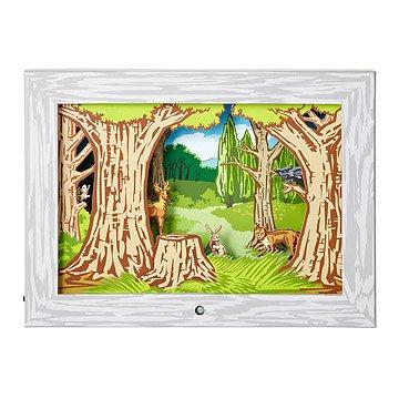 Woodland Diorama Scene
