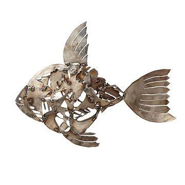Fish Mosaic Lawn Sculpture