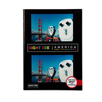 Sight See America Photo and Trivia Book