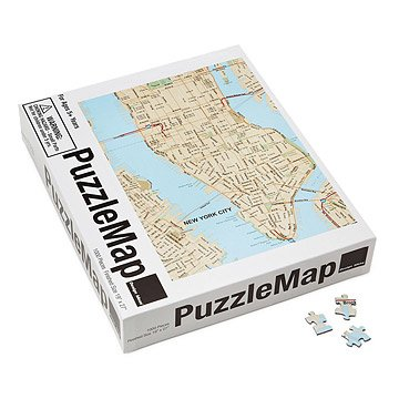 City Puzzle Maps