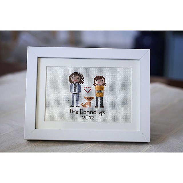 Custom Cross Stitch People Portrait 2