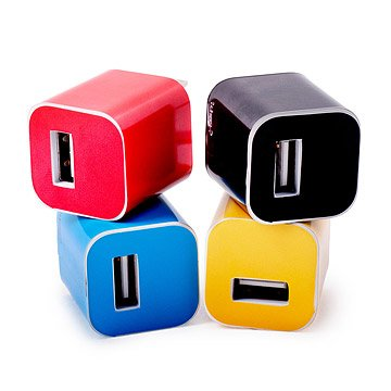 iPhone Charger Sticker Colors Set