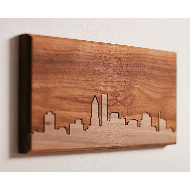Wood Skyline Routing - Large 2