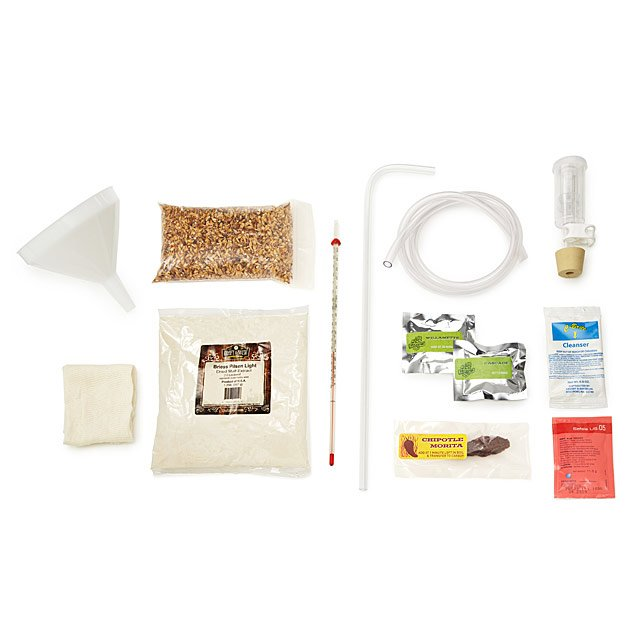Texas Chipotle Amber Beer Brewing Kit 2