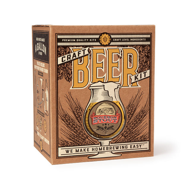 Southern Bourbon Stout Beer Brewing Kit 2