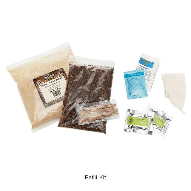 Southern Bourbon Stout Beer Brewing Kit 5