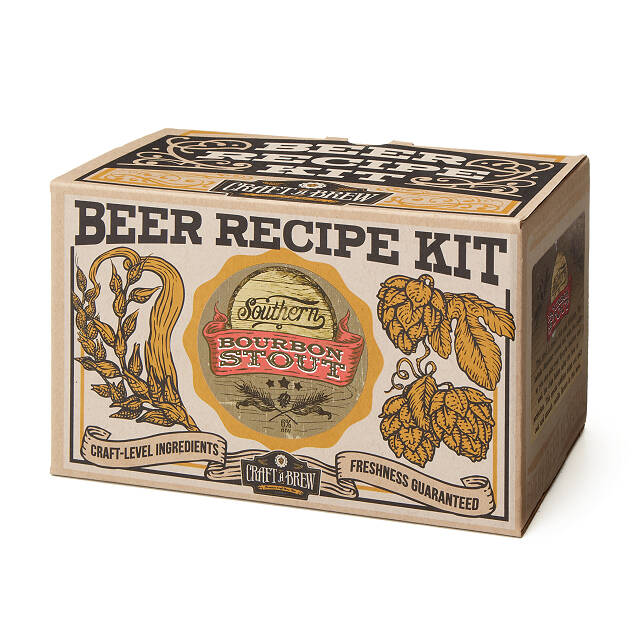 Southern Bourbon Stout Beer Brewing Kit 6