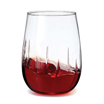 Stemless Aerating Wine Glasses - Set of 4
