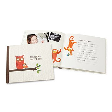 Custom Petit Collage Baby Book