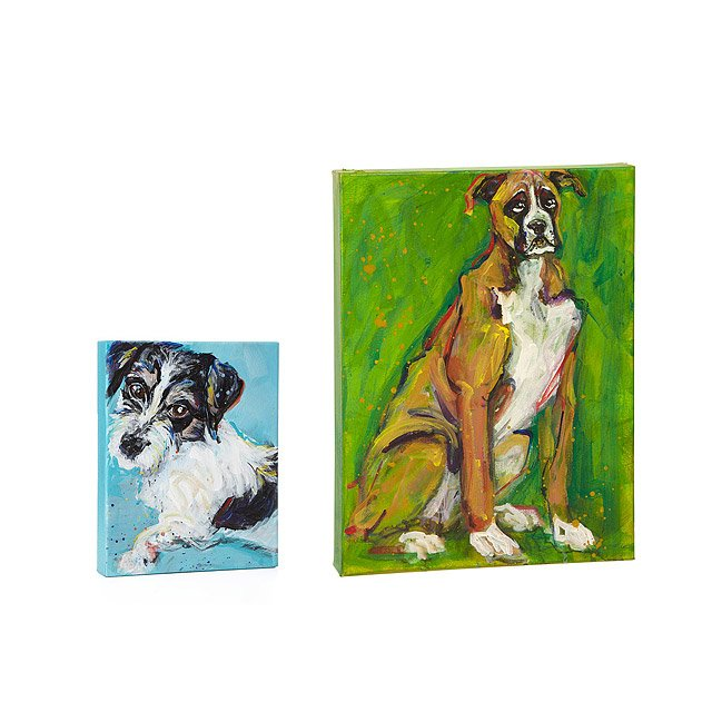 Custom Painterly Pet Portraits 3