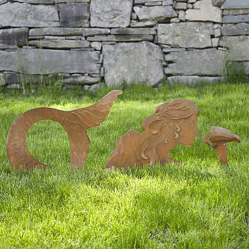 Mermaid Lawn Sculpture