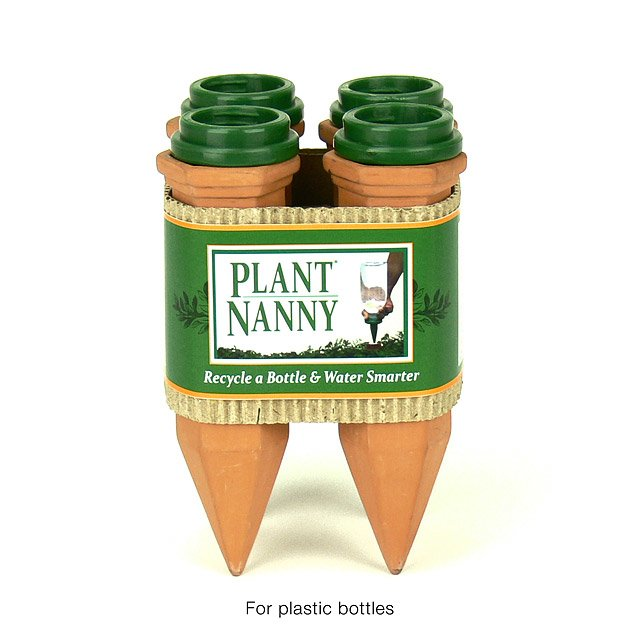 Recycle a Bottle Plant Nanny Stake- Set of 4 4