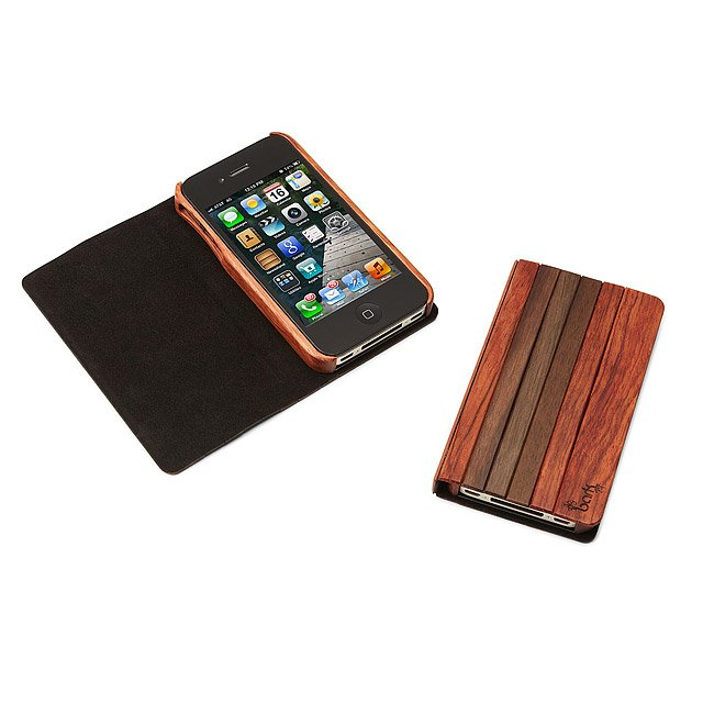 Aphotic Wood Book iPhone Case 2