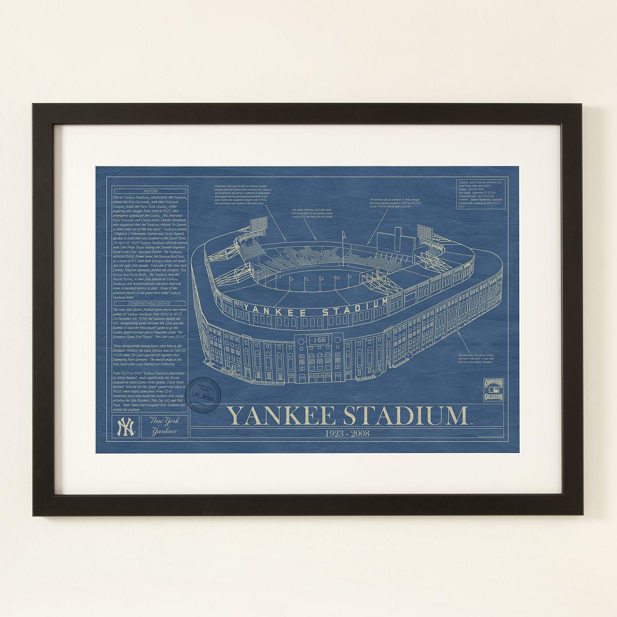 Large Ballpark Blueprints