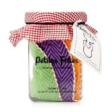 Eat Your Veggies Bibs - Set of 3