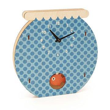 Fishbowl Pendulum Clock