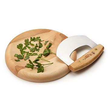 Herb Bowl with Mezzaluna