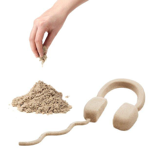 Kinetic Sand | kids sand, sandbox, play sand, sand toys | UncommonGoods