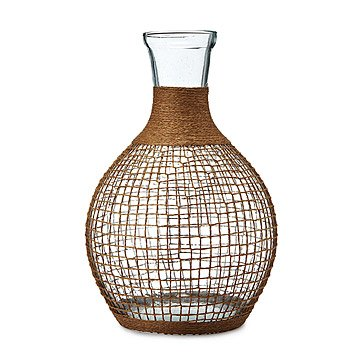 Recycled Glass Bali Round Vase