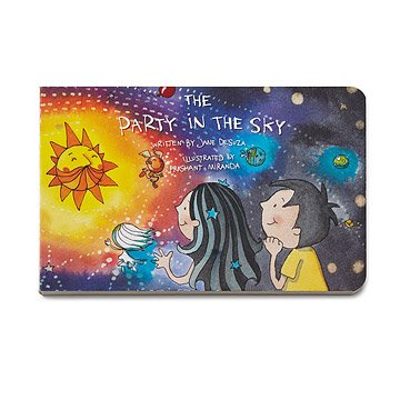The Party in the Sky - Children's Book