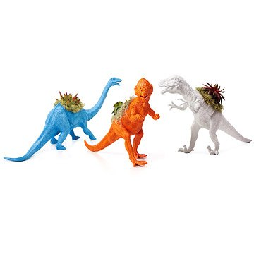 Neon Dinosaur Planters