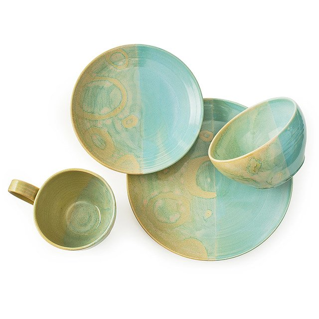 Summertide Stoneware Dishware Collection 2