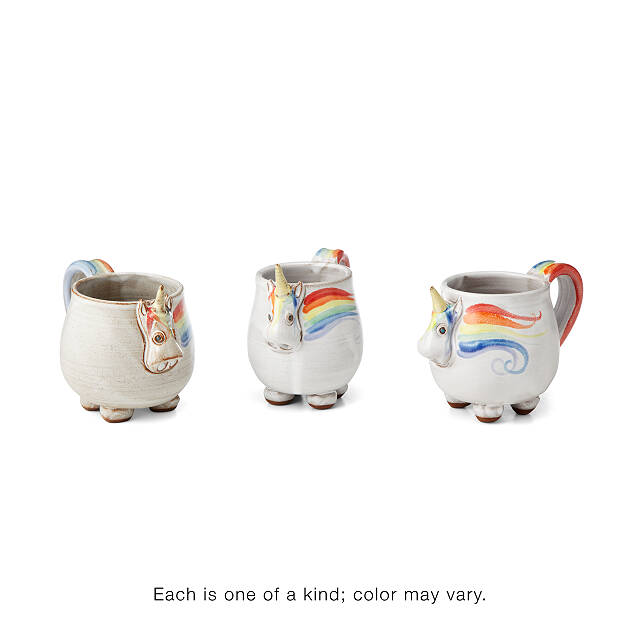 Elwood the Rainbow Unicorn Mug 3