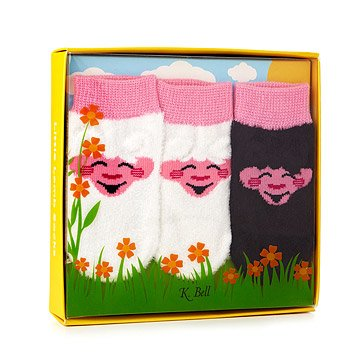 Little Lamb Baby Socks