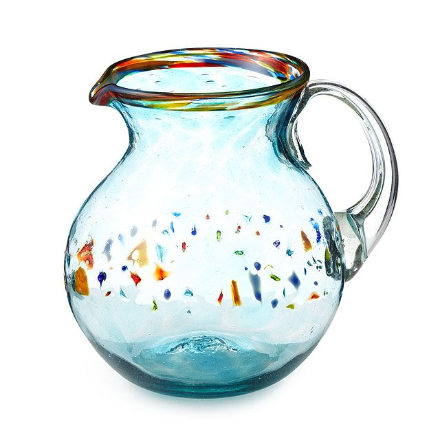 Recycled Verano Glass Pitcher