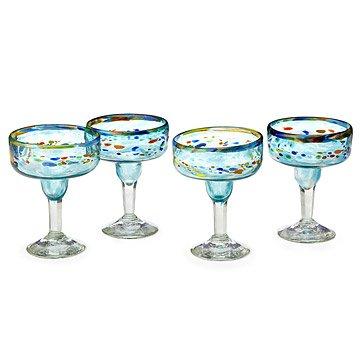 Recycled Verano Margarita Glasses - Set of 4