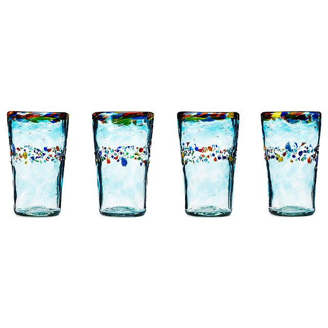 Recycled Verano Glassware - Set of 4 1