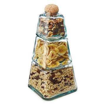 Three Tiered Stacking Jars