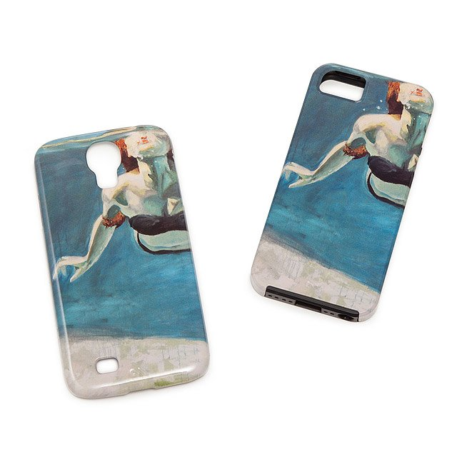 Swimming Art Phone Case