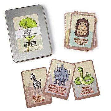 Tri-Lingual Card Games