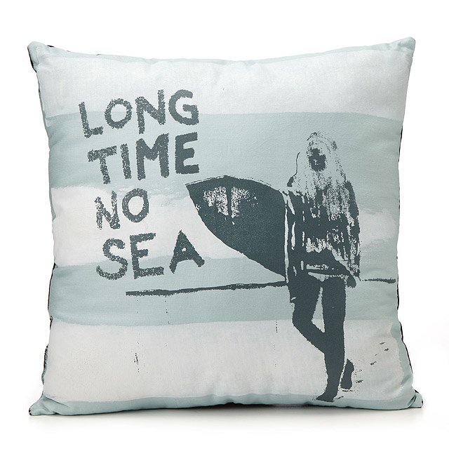 Long Time No Sea Pillow