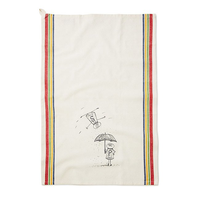 Salt and Pepper Apron and Towel Set 3