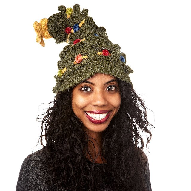 Christmas Tree Hat 2