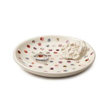 Dancing Dots Porcelain Ring Bowl