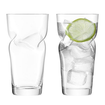Helix Highball Glasses - Set of 2