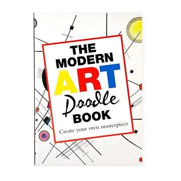 Modern Art Doodle Book