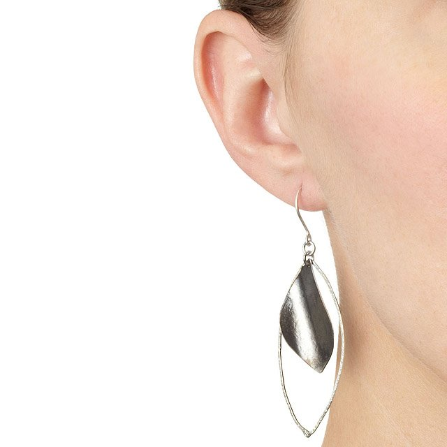 Silver Lining Earrings 2