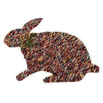 Confetti Bunny Rug
