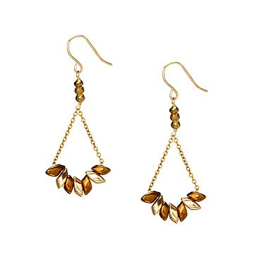 Dancing Beads Swing Earrings