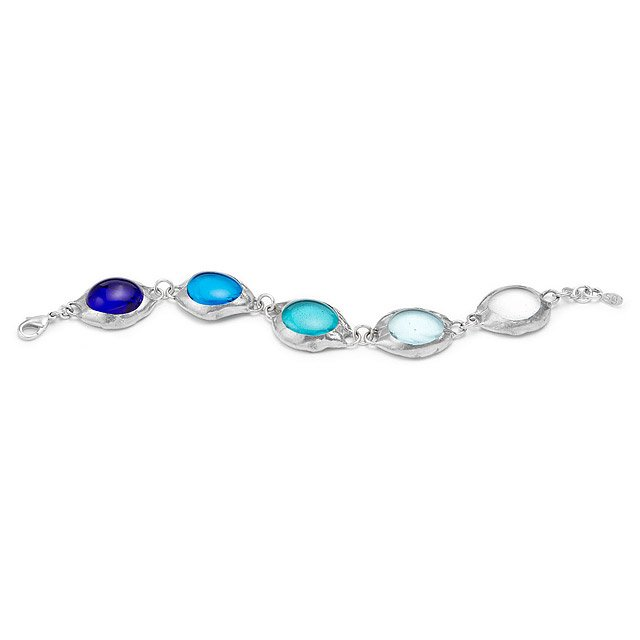 Ombre Glass Bracelet