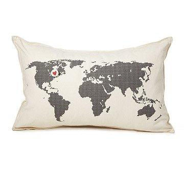 Heart Marks the Spot Pillow