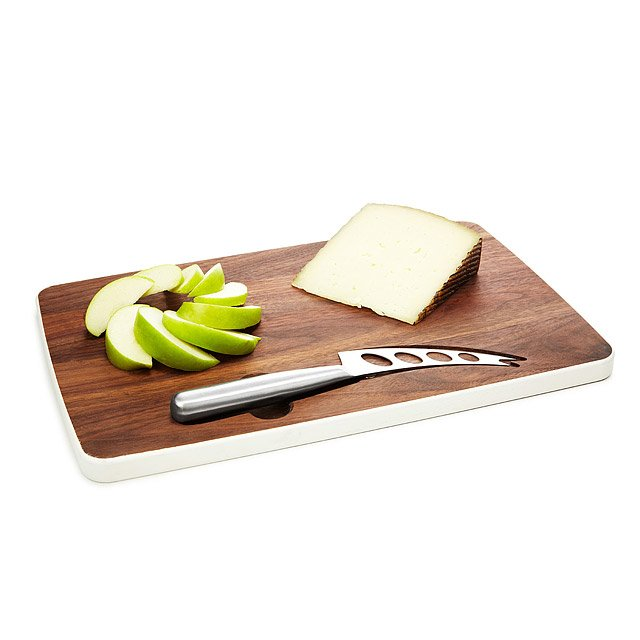 Magnetic Cheese Board with Knife