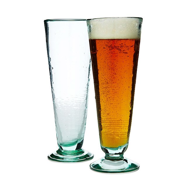 Recycled Conical Glasses - Set of 2 2
