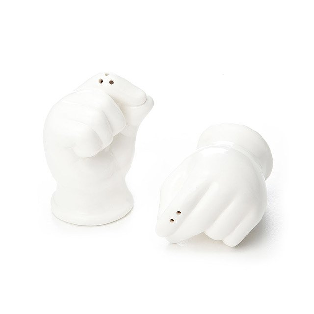 Pinch and Dash Salt and Pepper Shaker Set