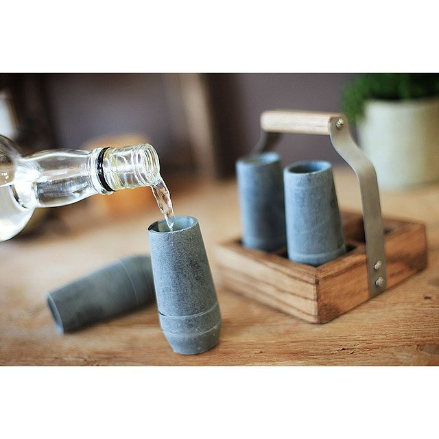 Soapstone Shooter Set with Tote 2