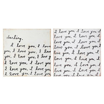 Darling, I Love You Two Page Love Letter